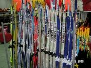 Лыжи беговые с креплениями в ассортименте